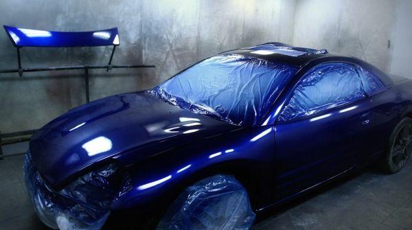 Перекраска авто