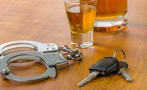 Езда в пьяном виде и наказание