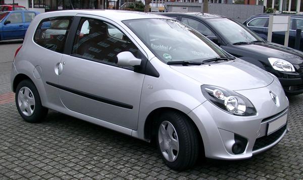Fiat 500 Lounge, Mazda2 TS2, Renault Twingo