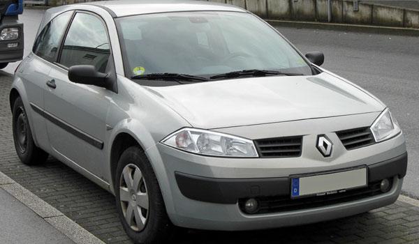Новый автомобиль Golf-Класса Renault Megane II