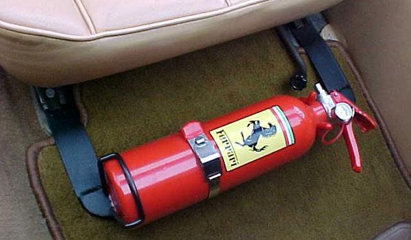 Автомобильный огнетушитель