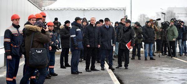 Собянин открыл новый тоннель в Москве
