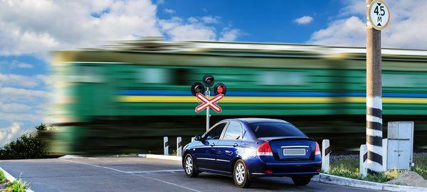 Штраф за нарушение на ж/д переезде предложено увеличить в 5 раз