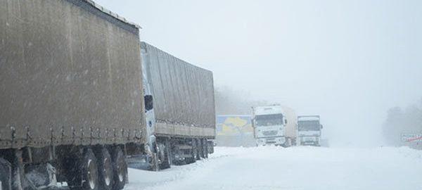 Между Россией и Польшей прекратилось движение грузовиков с 1 февраля 2016 года