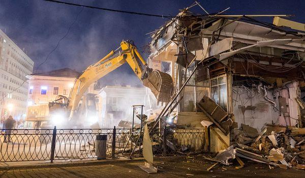 Власти Москвы не будут строить парковки на месте снесенных киосков