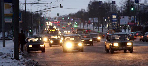 Камеры в столице начнут штрафовать автомобилистов за езду без ближнего света