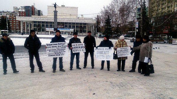 Протесты дальнобойщиков против «Платона» ни к чему не привели