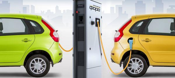 В 2016 году в Москве появится 200 новых зарядных станций для электромобилей