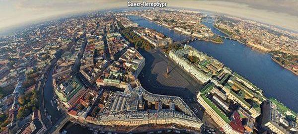 Санкт-Петербург, парковки, панорама