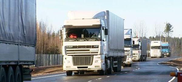 В Финляндии стали задерживать российские фуры и требовать уплату таможенных сборов за въезд