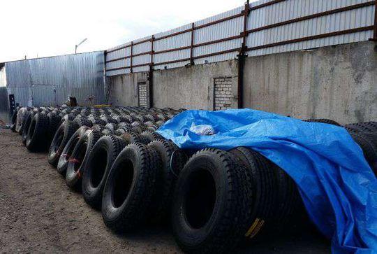 В России резко сократился импорт из Китая резины для грузовиков