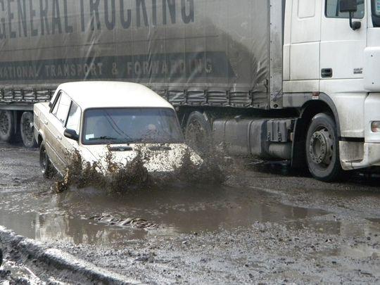 Если из-за халатности дорожников будет причинен вред здоровью, их будут штрафовать на 500 000 рублей