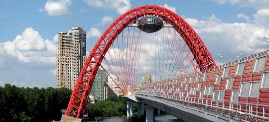 В Москве построят 15 автомобильных мостов