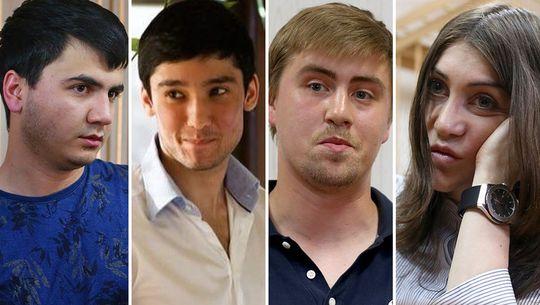 Абдувахоб Маджидов, Руслан Шамсуаров, Виктор Узков, Мара Багдасарян
