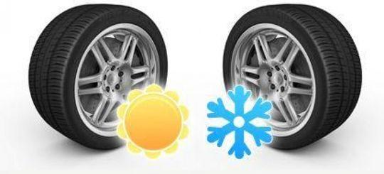 Росавтодор предлагает штрафовать за шины не по сезону