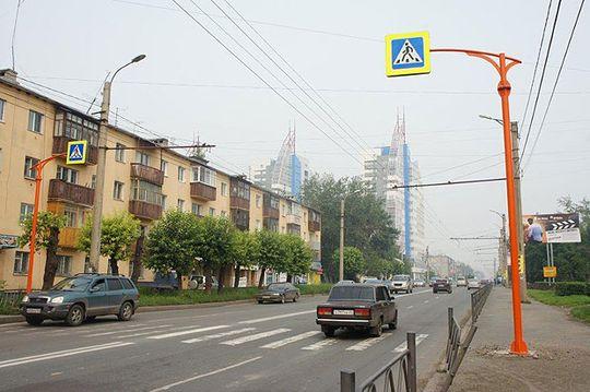 555 нерегулируемых пешеходных переходов в Москве будут оборудованы дублирующими знаками в 2016 году
