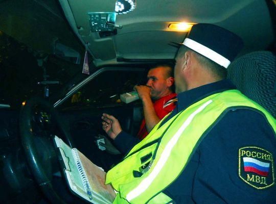 Количество протоколов при освидетельствовании водителей на опьянение будет уменьшено