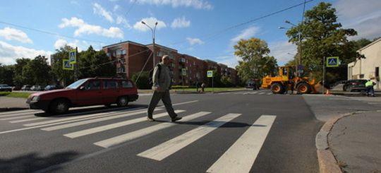 ЦОДД: количество ДТП с пешеходами в Москве уверенно снижается