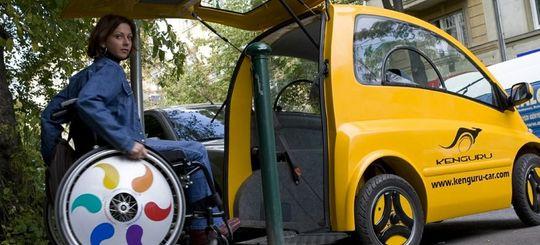 Автомобили инвалидов предлагают пустить на выделенные полосы для общественного транспорта