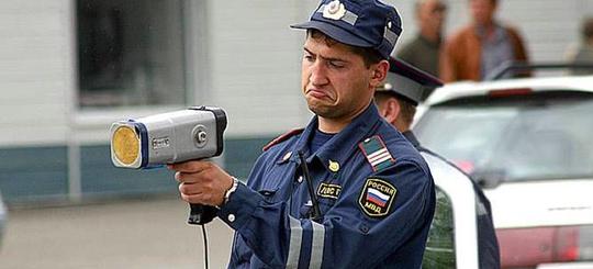 ГИБДД запретила ручные радары в нескольких регионах России