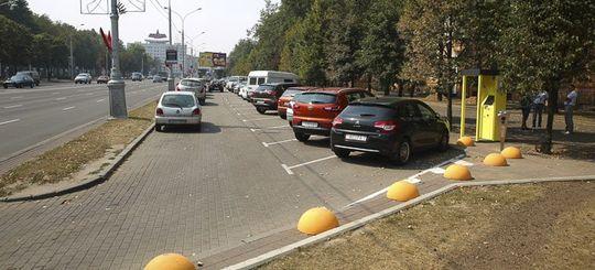 Число парковок в Москве сократится на 10% к концу 2016 года