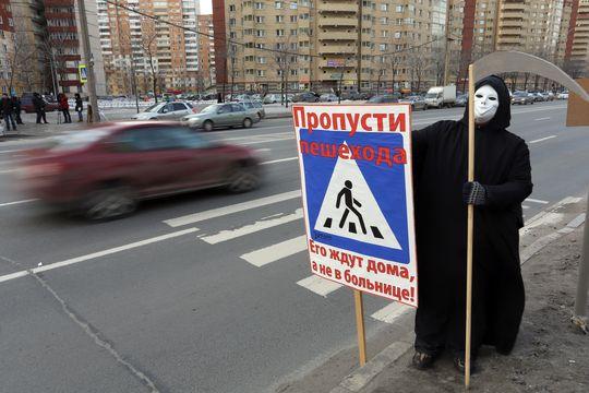 Штраф для водителей, не пропустивших пешехода, предложили увеличить в 3 раза