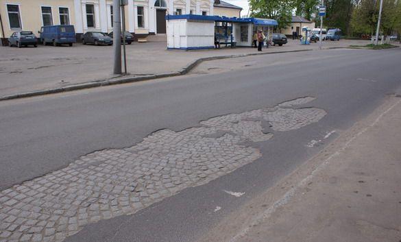 Одна из дорог в Калининграде