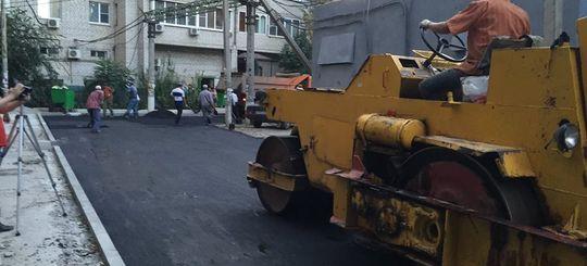 В Астрахани власти оштрафовали компанию за ремонт дороги