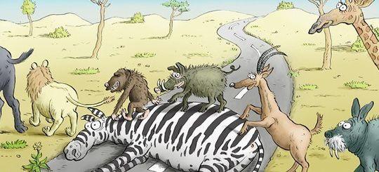 Власти Москвы нарисовали «правильную» дорожную зебру