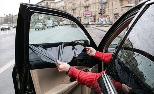 За тонировку хотят лишать водительских прав на полгода