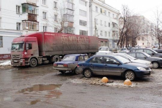 В Москве ограничили движение большегрузов с 1 декабря 2016 года