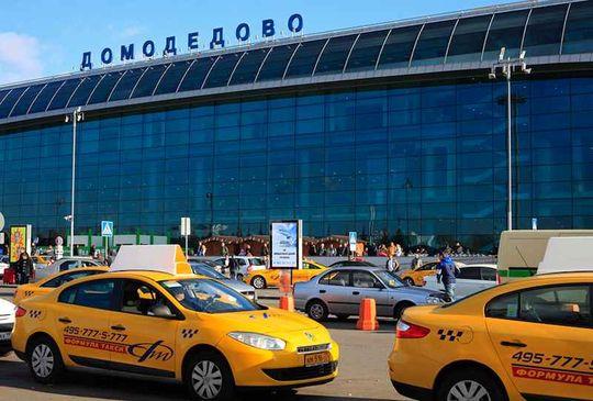 В московских аэропортах установят терминалы для вызова такси