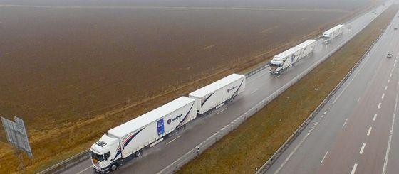 В 2017 году из Москвы в Краснодар будут ездить грузовики без водителей