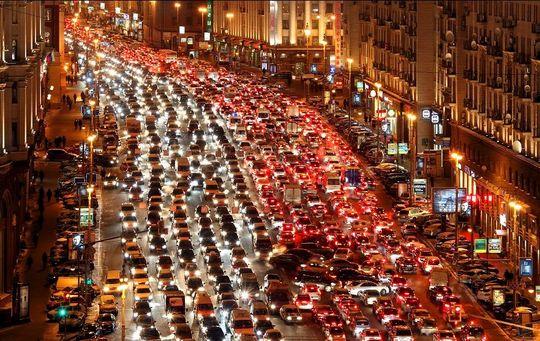 В Москве начнут бороться с пробками по-японски