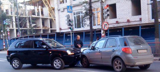 В Москве стали в 2,5 раза больше оформлять ДТП по европротоколу