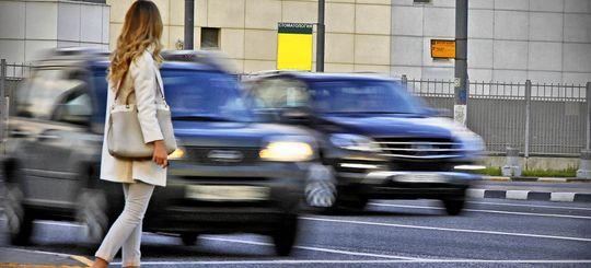 Правительство поддержало увеличение штрафов за непропуск пешеходов