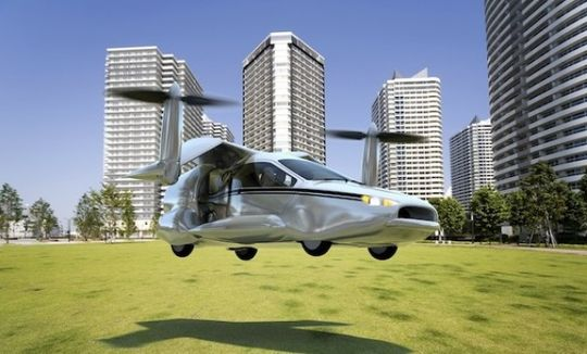 «Летающий автомобиль» станет реальностью в России
