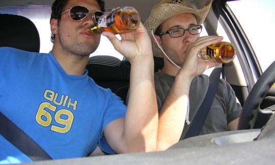 В МВД предлагают изымать автомобили у пьяных водителей
