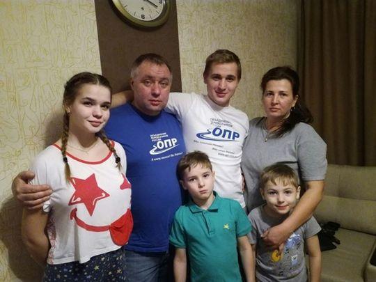 У арестованного лидера протестующих дальнобойщиков Андрея Бажутина попытались отобрать детей