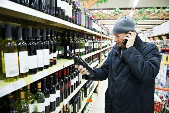 Алкоголь можно будет купить по водительским правам
