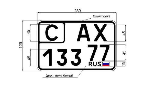 Новые номерные автомобильные знаки: какими они будут и когда появятся