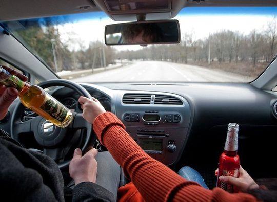 Стали известны регионы с самыми пьющими водителями
