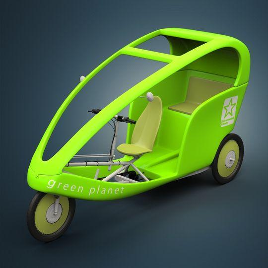 В столице Ингушетии Магасе появятся официальная альтернатива такси — велотакси на солнечных батареях
