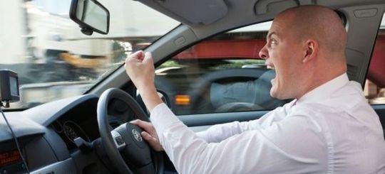 Каждый пятый водитель агрессивен