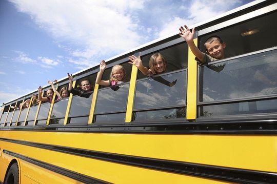 Автобусы для перевозки детей оснастят проблесковыми маячками
