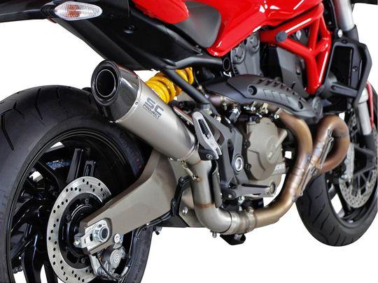 Глушитель SC Project Conic для Ducati Monster 821 14-18