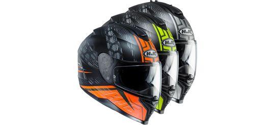 Мотошлемы HJC Helmets — и для гонок, и для улиц