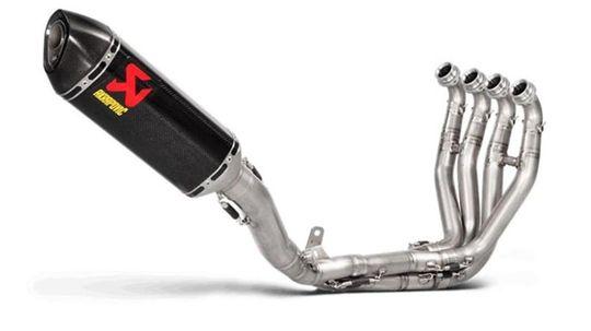 глушитель Akrapovič для мотоцикл KAWASAKI Ninja ZX-10R
