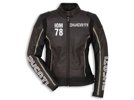 Женская DUCATI IOM78 С1Black Brown Jacket