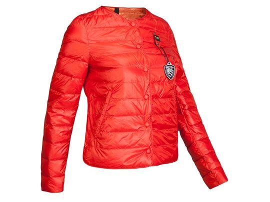 Куртка пуховая женская Blauer USA красная